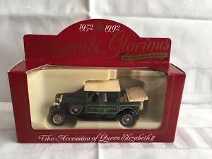 【送料無料】模型車 モデルカー スポーツカー エリザベスモデルミントダイlledo the accession of queen elizabeth 11 diecast model 40th anniversary mint