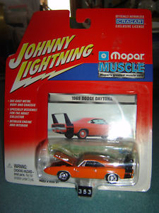 【送料無料】模型車 モデルカー スポーツカー ジョニーオレンジダッジデイトナjohnny lightning mopar muscle hemi orange 1969 dodge daytona 164 ho in pkg, タジママチ 357da8ad