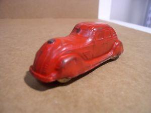 【送料無料】模型車 モデルカー スポーツカー サンラバーオハイオsun rubber company toy car red barberton ohio