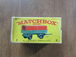 【送料無料】模型車 モデルカー スポーツカー マッチメルセデストレーラー#オリジナルボックスneues angebotmatchbox lesney mercedes trailer 2 with original box jmsr21