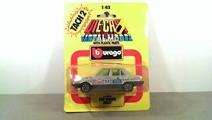 【送料無料】模型車 モデルカー スポーツカー フィアットラリーbburago fiat regata rally *vi5408