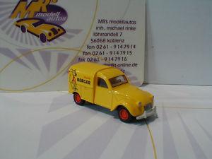 【送料無料】模型車 モデルカー スポーツカー シトロエンボックスダックアニスバーガーbrekina 14188 citroen kastenente baujahr 1963 anisette berger 187 neu