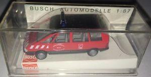【送料無料】模型車 モデルカー スポーツカー ルノーエスパスbusch 45512 renault espace feuerwehr, h0 187, neu ovp