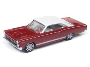 【送料無料】模型車 world モデルカー gt スポーツカー muscle 66 mercury comet cyclone gt redwhite 1966*rr* auto world muscle 164 ovp, トリヤマチ:730753f4 --- debyn.com