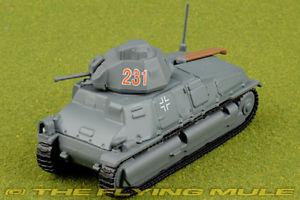 【送料無料】模型車 モデルカー スポーツカー 172 pzkpfw35s 739f 231 german army