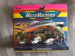 【送料無料】模型車 モデルカー スポーツカー micro machines 13 smakers