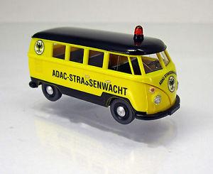 【送料無料】模型車 モデルカー スポーツカー フォルクスワーゲンフォルクスワーゲンバススケールwiking 079719 volkswagen vw t1 bus adac scale 1 87 neu ovp