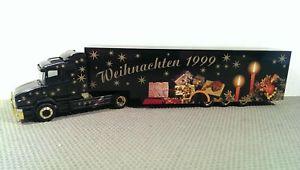 【送料無料】模型車 モデルカー スポーツカー クリスマストターherpa scania hauber weihnachten 1999 sattelzug *vi52725