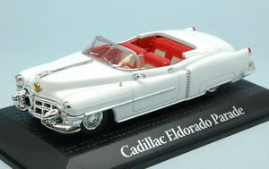 Eisenhower 1953 white 1:43 Norev Cadillac Eldorado Parade Dwight D