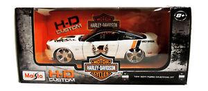 【送料無料】模型車 モデルカー スポーツカー スケールハーレーダビッドソンフォードムスタングダイカストmaisto 124 scale harley davidson 2011 ford mustang gt diecast vehicle