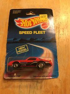 【送料無料】模型車 モデルカー スポーツカー ホットホイールスピードフリートカマロ#パッケージ