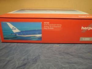 【送料無料】模型車 モデルカー スポーツカー ボーイングドリームライナーherpa wings 1200 boeing 7879 dreamliner klm 557450