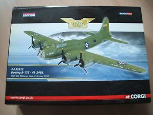 【送料無料】模型車 モデルカー スポーツカー コーギーアーカイブボーイングcorgi aviation archive aa33312 boeing b17e 412488