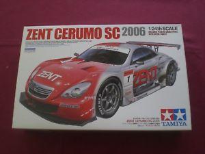 【送料無料】模型車 モデルカー スポーツカー セントセルモスカラzent cerumo sc 2006 scala 124 tamiya
