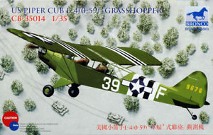 【送料無料】模型車 モデルカー スポーツカー ブロンコパイパーカブショッパースカラbronco 35014 piper cub l4h 059 grasshopper scala 135