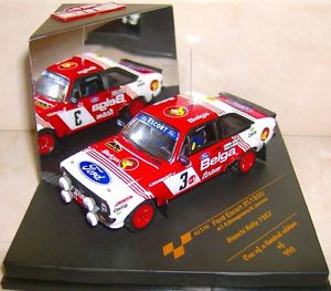 【送料無料】模型車 モデルカー スポーツカー フォードエスコートビアンキラリーロバートford escort rs 1800 bianchi rallye 1982 robert droogmans belga vitesse 998 ex