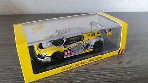 【送料無料】模型車 モデルカー スポーツカー スパークアウディウルトラサンレーシング#スパ143 spark sb089 audi r8 lms ultra sainteloc racing 25 24h spa 2014