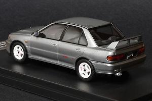 【送料無料】模型車 モデルカー スポーツカー ランサーエボ#mitsubishi lancer evo ii queens silver hpi 8560 143