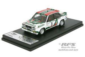 【送料無料】模型車 モデルカー スポーツカー フィアットアバルトラリーポルトガルfiat 131 abarth rallye portugal 1978 walter rhrl 143 tr rral 015