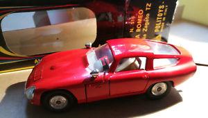 【送料無料】模型車 モデルカー スポーツカー アルファロメオオリジナルrare politoys m n 516 alfa romeo zagato vrg condition ovp all original