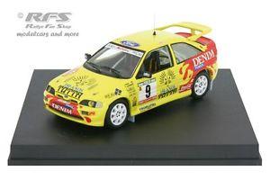 【送料無料】模型車 モデルカー スポーツカー フォードコスワースエスコートポルトガルラリーペレスford escort rs cosworth rallye portugal 1993 peres 143 trofeu mp 216