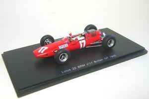 【送料無料】模型車 モデルカー スポーツカー ロータスマイクスペンスイギリスlotus 25 17 mike spence british gp 1966