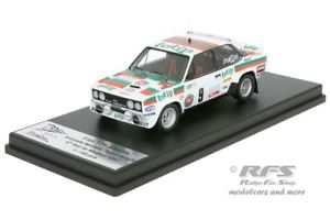 【送料無料】模型車 モデルカー スポーツカー フィアットアバルトジョリークラブマデイララリーfiat 131 abarth jolly club totip rallye madeira 1982 amandelli 143 trofeu