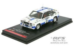【送料無料】模型車 モデルカー スポーツカー フィアットアバルトラリーfiat 131 abarth rac rallye 1979 rhrl geistdrfer  143 trofeu rws 001