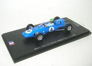 【送料無料】模型車 モデルカー スポーツカー マニクールmatra ms2 4 winner magnycours f3 1966