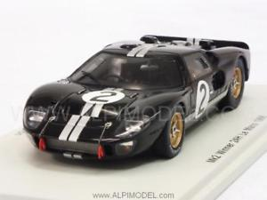 【送料無料】模型車 モデルカー スポーツカー フォード#ルマンマクラーレンスパークford mkii 2 winner le mans 1966 mclaren 143 spark 43lm66