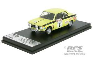 【送料無料】模型車 モデルカー スポーツカー ラリーアルピナマットbmw 1602 rallye vorderpfalz 1972 zweibumer alpina matter 143 trofeu dery 002