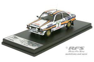 【送料無料】模型車 モデルカー スポーツカー フォードエスコートポルトガルラリーバタネンford escort rs mk ii rallye portugal 1980 vatanen 143 trofeu rral 032 mr