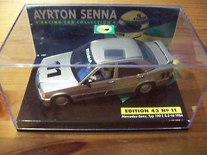 【送料無料】模型車 モデルカー スポーツカー アイルトンセナメルセデスベンツタイプ143 ayrton senna no 11 mercedesbenz typ 190e 2316 1984