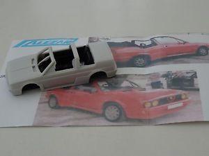【送料無料】模型車 モデルカー スポーツカー モデルアルファロメオスプリントカブリオレalezan models  143 alfa romeo sprint qv 1,5l cabriolet 1985