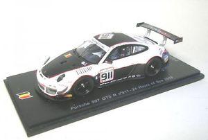 【送料無料】模型車 モデルカー スポーツカー ポルシェグアテマラスパporsche 997 gt3 r 911 24 hours of spa 2013