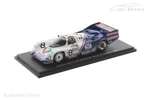 【送料無料】模型車 モデルカー スポーツカー ポルシェデイトナフォイトporsche 962 c winner 24h daytona 1985 foyt wollek unser boutsen spar