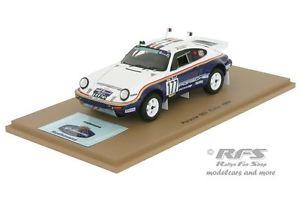 【送料無料】模型車 モデルカー スポーツカー ポルシェダカールラリースパークporsche 911 953 rallye dakar 1984 kussmaul lerner  143 spark 4882