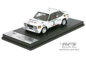 【送料無料】模型車 モデルカー スポーツカー フィアットアバルトポルトガルラリーfiat 131 abarth  rallye portugal 1977 andruet 143 trofeu rral 048