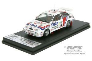 【送料無料】模型車 モデルカー スポーツカー フォードシエラポルトガルコスワースラリーford sierra rs cosworth fina rallye portugal 1990 duez 143 trofeu rral 009