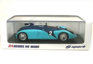 【送料無料】模型車 モデルカー スポーツカー ブガッティルマンルbugatti 57 g 2 winner lemans 1937 jp wimille r benoist