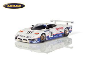【送料無料】模型車 モデルカー スポーツカー スパイスコスワースレーシングルマングランドテリエンスパークspicecosworth se87c graff racing le mans 1988 grandterrienguenoun, spark 143
