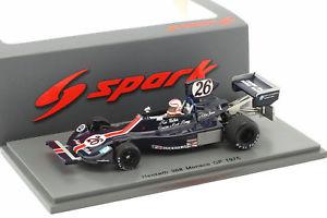 【送料無料】模型車 モデルカー スポーツカー アランジョーンズ#モナコフォーミュラalan jones hesketh 308 26 monaco gp formel 1 1975 143 spark