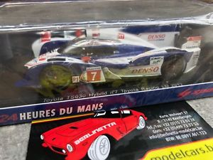 【送料無料】模型車 モデルカー スポーツカー スパークルマントヨタレーシングハイブリッドブルツspark s2376 24h du mans 2012 toyota racing ts030 hybrid n7 nakajima wurz 143