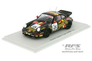 【送料無料】模型車 モデルカー スポーツカー ポルシェカレラカップルマンスパークporsche carrera 2 cup grohs libert theys 24h le mans 1993 143 spark 4440