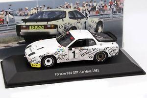 【送料無料】模型車 モデルカー スポーツカー ポルシェ#ルマンバルトporsche 924 1 24h lemans 1981 barth, rhrl 143 spark