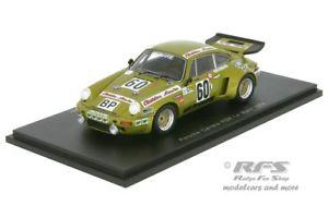 【送料無料】模型車 モデルカー スポーツカー ポルシェカレラルマンスパークporsche 911 carrera rsr 24h le mans 1974 striebig 143 spark 3495