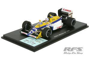 【送料無料】模型車 モデルカー スポーツカー ウィリアムズジャッドフォーミュラモナコスパークwilliams fw12 judd patrese formel 1 gp monaco 1988 143 spark 4028