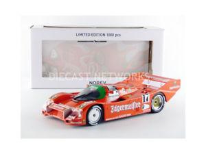 【送料無料】模型車 モデルカー スポーツカー ポルシェキロスパnorev 118 porsche 962 c winner 1000 km spa 1986 187402