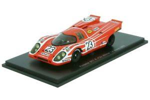 【送料無料】模型車 モデルカー スポーツカー ポルシェkルマンスパークporsche 917k attwood herrmann 24h le mans 1970 143 spark 43lm70
