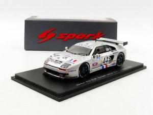 【送料無料】模型車 モデルカー スポーツカー スパークベンチュリルマンspark 143 venturi 600 slm le mans 1995 s2263